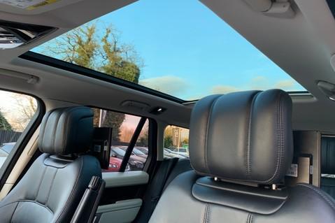 Land Rover Range Rover SDV6 VOGUE SE - RARE VELOCITY BLUE - REAR ENTERTAINMENT - VATQ 12