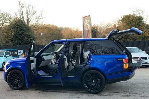 Land Rover Range Rover SDV6 VOGUE SE - RARE VELOCITY BLUE - REAR ENTERTAINMENT - VATQ 18
