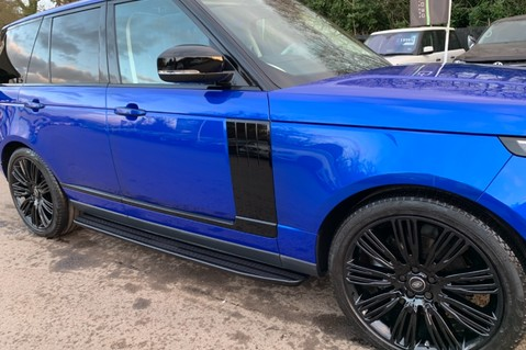 Land Rover Range Rover SDV6 VOGUE SE - RARE VELOCITY BLUE - REAR ENTERTAINMENT - VATQ 22