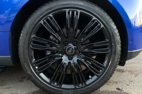 Land Rover Range Rover SDV6 VOGUE SE - RARE VELOCITY BLUE - REAR ENTERTAINMENT - VATQ 86