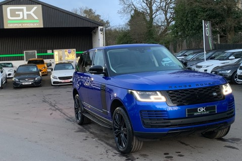 Land Rover Range Rover SDV6 VOGUE SE - RARE VELOCITY BLUE - REAR ENTERTAINMENT - VATQ 90