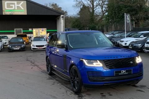 Land Rover Range Rover SDV6 VOGUE SE - RARE VELOCITY BLUE - REAR ENTERTAINMENT - VATQ 92