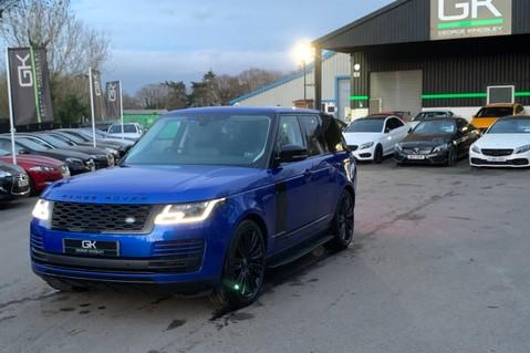 Land Rover Range Rover SDV6 VOGUE SE - RARE VELOCITY BLUE - REAR ENTERTAINMENT - VATQ 93
