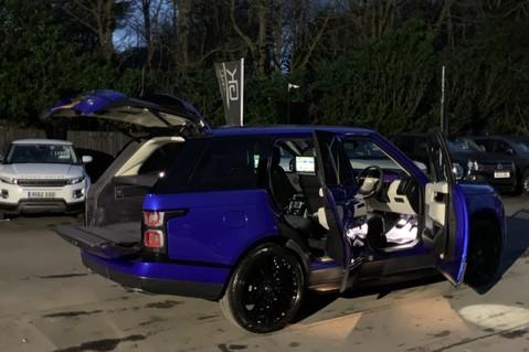 Land Rover Range Rover SDV6 VOGUE SE - RARE VELOCITY BLUE - REAR ENTERTAINMENT - VATQ 102