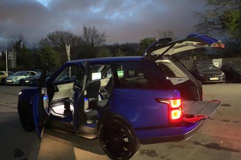 Land Rover Range Rover SDV6 VOGUE SE - RARE VELOCITY BLUE - REAR ENTERTAINMENT - VATQ 103