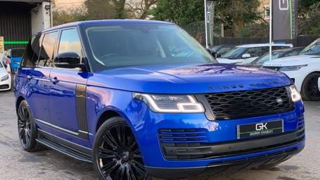 Land Rover Range Rover SDV6 VOGUE SE - RARE VELOCITY BLUE - REAR ENTERTAINMENT - VATQ Video