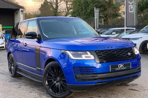 Land Rover Range Rover SDV6 VOGUE SE - RARE VELOCITY BLUE - REAR ENTERTAINMENT - VATQ 1