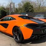 McLaren 570S Service History