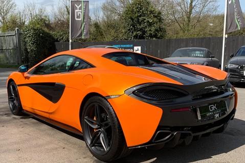 McLaren 570S V8 SSG - VENTURA ORANGE - SPORTS EXHAUST- LUX PACK- B&W -CARBON -SOFT CLOSE 2