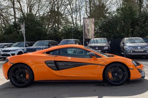 McLaren 570S V8 SSG - VENTURA ORANGE - SPORTS EXHAUST- LUX PACK- B&W -CARBON -SOFT CLOSE 5