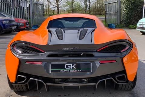 McLaren 570S V8 SSG - VENTURA ORANGE - SPORTS EXHAUST- LUX PACK- B&W -CARBON -SOFT CLOSE 7