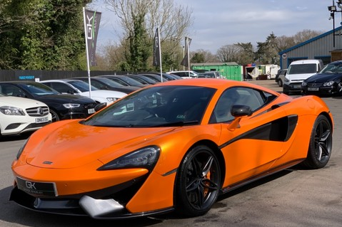McLaren 570S V8 SSG - VENTURA ORANGE - SPORTS EXHAUST- LUX PACK- B&W -CARBON -SOFT CLOSE 9