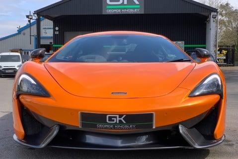 McLaren 570S V8 SSG - VENTURA ORANGE - SPORTS EXHAUST- LUX PACK- B&W -CARBON -SOFT CLOSE 10