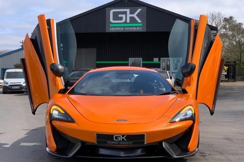 McLaren 570S V8 SSG - VENTURA ORANGE - SPORTS EXHAUST- LUX PACK- B&W -CARBON -SOFT CLOSE 13
