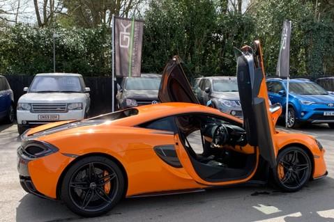 McLaren 570S V8 SSG - VENTURA ORANGE - SPORTS EXHAUST- LUX PACK- B&W -CARBON -SOFT CLOSE 16