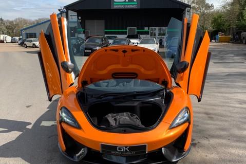 McLaren 570S V8 SSG - VENTURA ORANGE - SPORTS EXHAUST- LUX PACK- B&W -CARBON -SOFT CLOSE 20