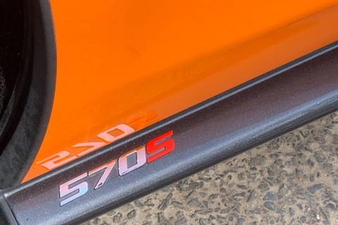 McLaren 570S V8 SSG - VENTURA ORANGE - SPORTS EXHAUST- LUX PACK- B&W -CARBON -SOFT CLOSE 31