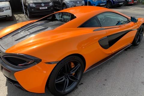 McLaren 570S V8 SSG - VENTURA ORANGE - SPORTS EXHAUST- LUX PACK- B&W -CARBON -SOFT CLOSE 36