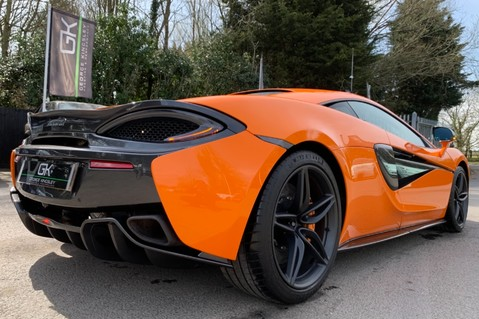 McLaren 570S V8 SSG - VENTURA ORANGE - SPORTS EXHAUST- LUX PACK- B&W -CARBON -SOFT CLOSE 40