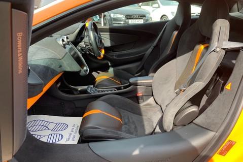 McLaren 570S V8 SSG - VENTURA ORANGE - SPORTS EXHAUST- LUX PACK- B&W -CARBON -SOFT CLOSE 6