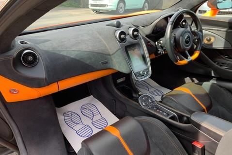 McLaren 570S V8 SSG - VENTURA ORANGE - SPORTS EXHAUST- LUX PACK- B&W -CARBON -SOFT CLOSE 43