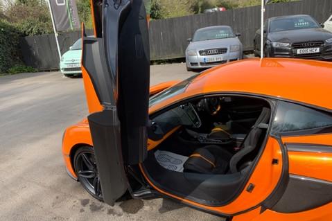 McLaren 570S V8 SSG - VENTURA ORANGE - SPORTS EXHAUST- LUX PACK- B&W -CARBON -SOFT CLOSE 49