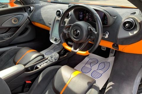 McLaren 570S V8 SSG - VENTURA ORANGE - SPORTS EXHAUST- LUX PACK- B&W -CARBON -SOFT CLOSE 12