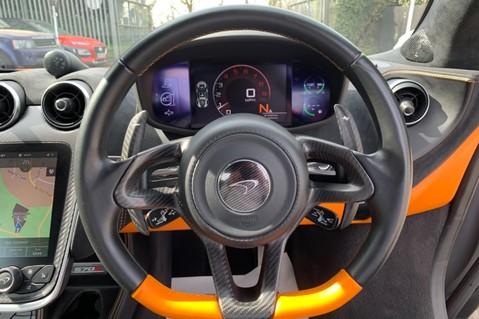 McLaren 570S V8 SSG - VENTURA ORANGE - SPORTS EXHAUST- LUX PACK- B&W -CARBON -SOFT CLOSE 59