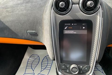 McLaren 570S V8 SSG - VENTURA ORANGE - SPORTS EXHAUST- LUX PACK- B&W -CARBON -SOFT CLOSE 62