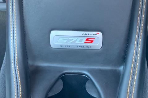 McLaren 570S V8 SSG - VENTURA ORANGE - SPORTS EXHAUST- LUX PACK- B&W -CARBON -SOFT CLOSE 75