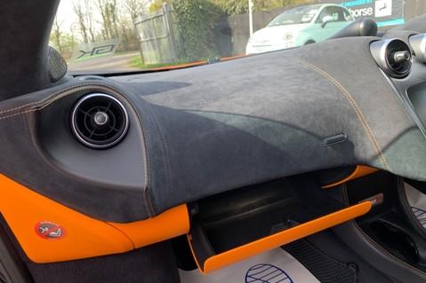 McLaren 570S V8 SSG - VENTURA ORANGE - SPORTS EXHAUST- LUX PACK- B&W -CARBON -SOFT CLOSE 79