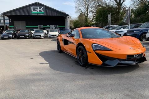 McLaren 570S V8 SSG - VENTURA ORANGE - SPORTS EXHAUST- LUX PACK- B&W -CARBON -SOFT CLOSE 90