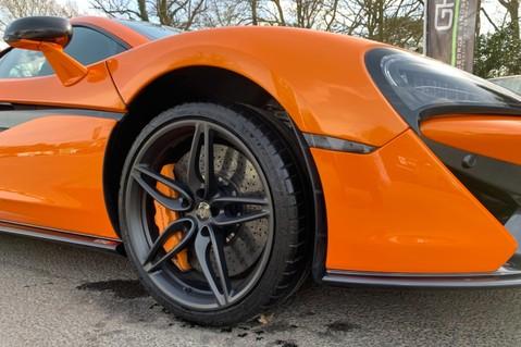 McLaren 570S V8 SSG - VENTURA ORANGE - SPORTS EXHAUST- LUX PACK- B&W -CARBON -SOFT CLOSE 91