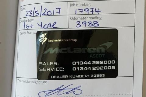 McLaren 570S V8 SSG - VENTURA ORANGE - SPORTS EXHAUST- LUX PACK- B&W -CARBON -SOFT CLOSE 97