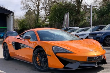 McLaren 570S V8 SSG - VENTURA ORANGE - SPORTS EXHAUST- LUX PACK- B&W -CARBON -SOFT CLOSE