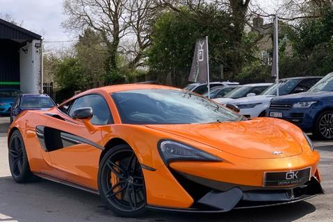 McLaren 570S V8 SSG - VENTURA ORANGE - SPORTS EXHAUST- LUX PACK- B&W -CARBON -SOFT CLOSE 1