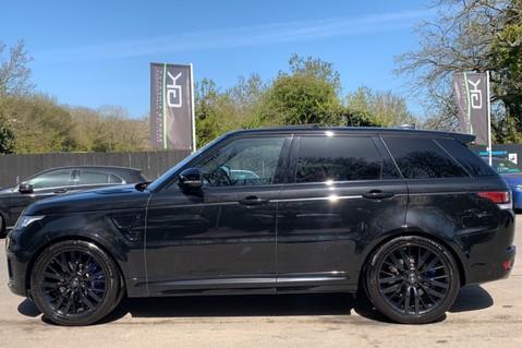 Land Rover Range Rover Sport 5.0 V8 S/C SVR - TRIPLE BLACK - CARBON INTERIOR PACK - SLIDING PAN ROOF 9