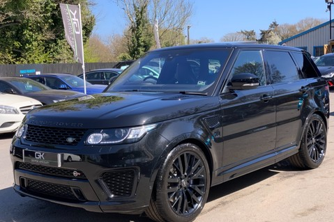 Land Rover Range Rover Sport 5.0 V8 S/C SVR - TRIPLE BLACK - CARBON INTERIOR PACK - SLIDING PAN ROOF 8