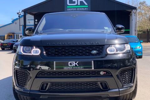 Land Rover Range Rover Sport 5.0 V8 S/C SVR - TRIPLE BLACK - CARBON INTERIOR PACK - SLIDING PAN ROOF 11