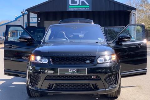 Land Rover Range Rover Sport 5.0 V8 S/C SVR - TRIPLE BLACK - CARBON INTERIOR PACK - SLIDING PAN ROOF 16
