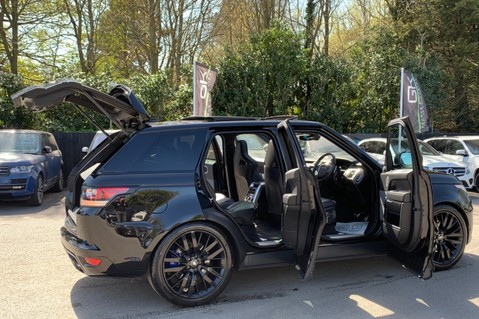 Land Rover Range Rover Sport 5.0 V8 S/C SVR - TRIPLE BLACK - CARBON INTERIOR PACK - SLIDING PAN ROOF 17