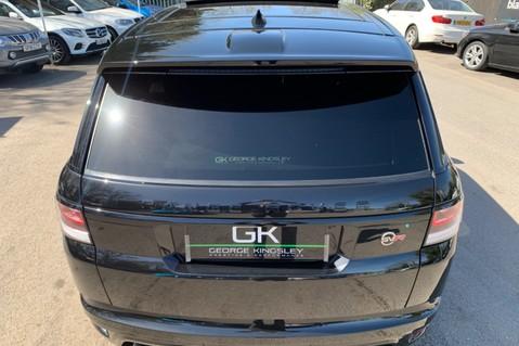 Land Rover Range Rover Sport 5.0 V8 S/C SVR - TRIPLE BLACK - CARBON INTERIOR PACK - SLIDING PAN ROOF 25