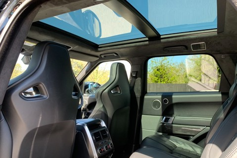 Land Rover Range Rover Sport 5.0 V8 S/C SVR - TRIPLE BLACK - CARBON INTERIOR PACK - SLIDING PAN ROOF 13