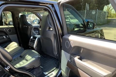 Land Rover Range Rover Sport 5.0 V8 S/C SVR - TRIPLE BLACK - CARBON INTERIOR PACK - SLIDING PAN ROOF 49