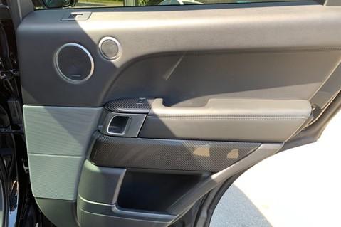 Land Rover Range Rover Sport 5.0 V8 S/C SVR - TRIPLE BLACK - CARBON INTERIOR PACK - SLIDING PAN ROOF 50