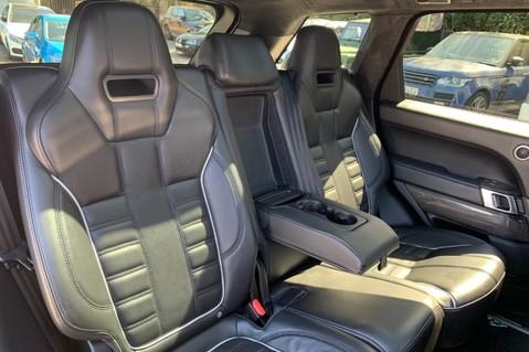 Land Rover Range Rover Sport 5.0 V8 S/C SVR - TRIPLE BLACK - CARBON INTERIOR PACK - SLIDING PAN ROOF 51