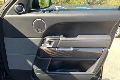 Land Rover Range Rover Sport 5.0 V8 S/C SVR - TRIPLE BLACK - CARBON INTERIOR PACK - SLIDING PAN ROOF 57