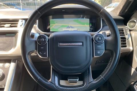 Land Rover Range Rover Sport 5.0 V8 S/C SVR - TRIPLE BLACK - CARBON INTERIOR PACK - SLIDING PAN ROOF 62