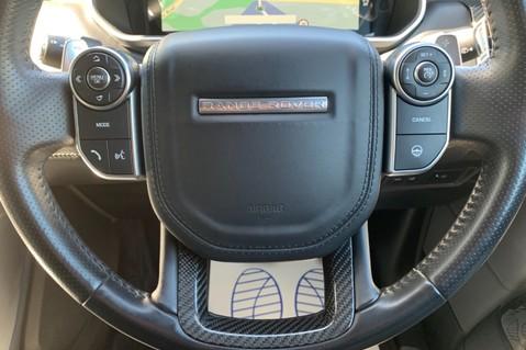 Land Rover Range Rover Sport 5.0 V8 S/C SVR - TRIPLE BLACK - CARBON INTERIOR PACK - SLIDING PAN ROOF 63