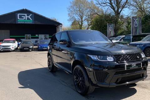 Land Rover Range Rover Sport 5.0 V8 S/C SVR - TRIPLE BLACK - CARBON INTERIOR PACK - SLIDING PAN ROOF 91